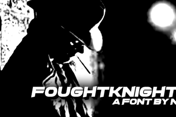 FoughtKnight X Font