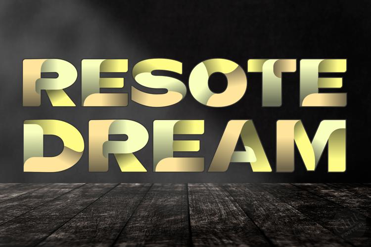 ResotE Dream Font