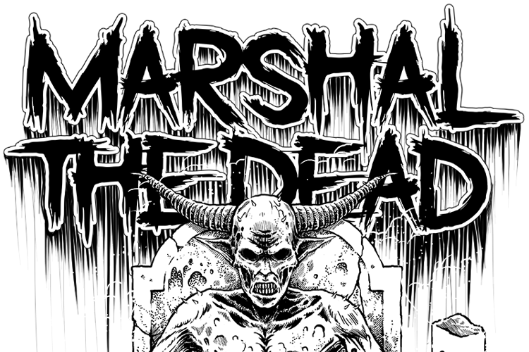 Marshal The Dead Font