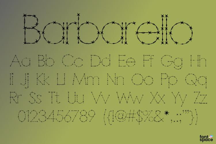 Barbarello Font