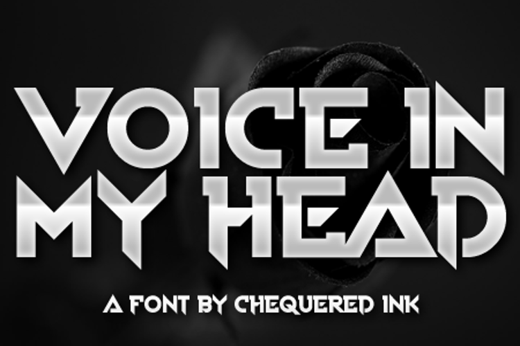 Voice In My Head Font