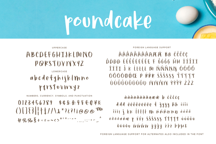 poundcake Font
