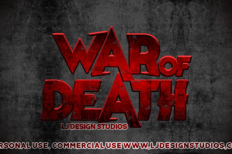 War of Death Font