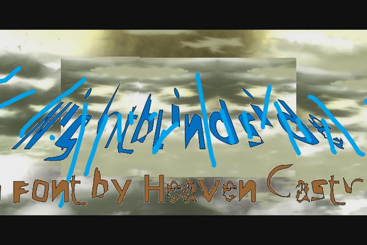 Nightblindside Font