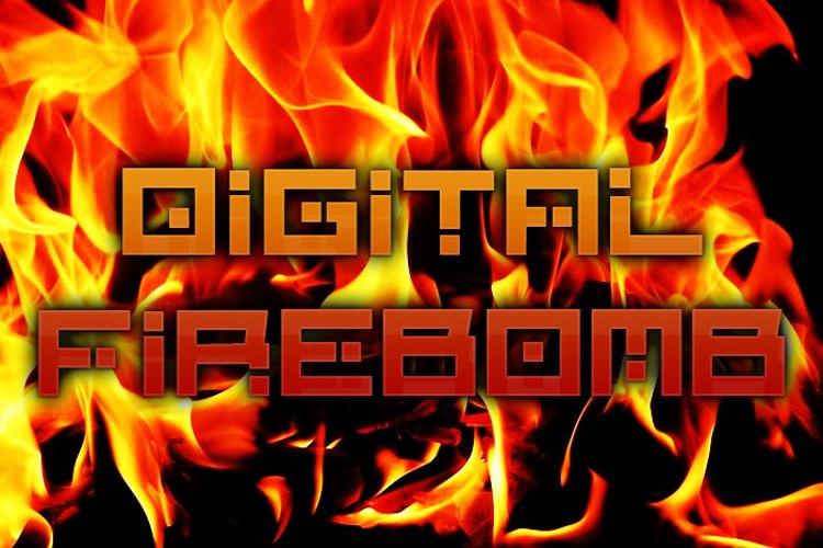 Digital Firebomb Font