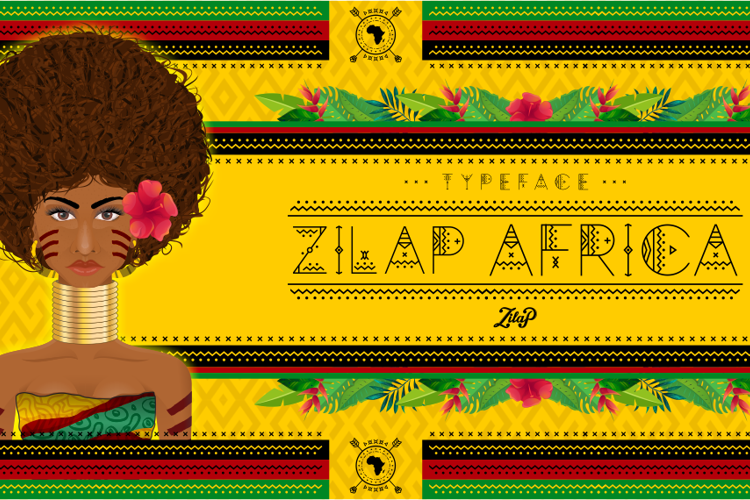 Zilap Africa Font