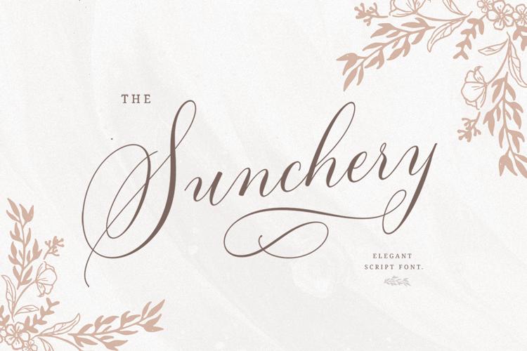 Sunchery Font