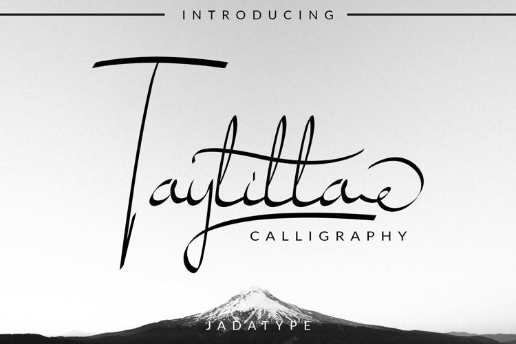 Taylilla Font