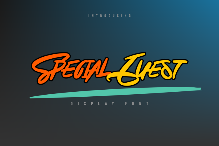 Special Guestfreeforpersonaluse Font