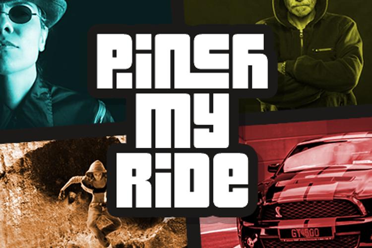 Pinch My Ride Font
