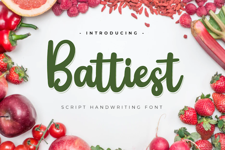 Battiest Font