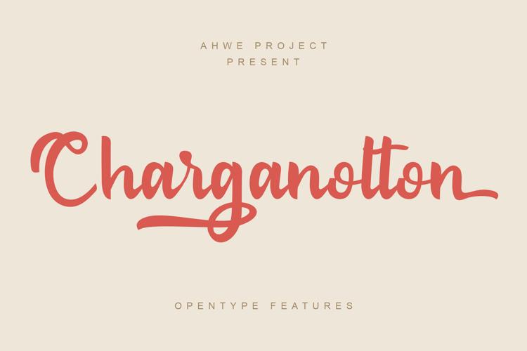 Charganolton Font