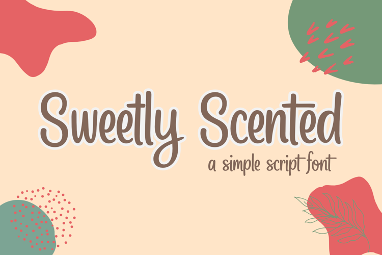 Sweetly Scented Font