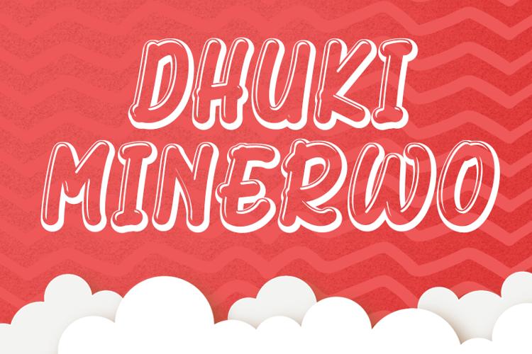 Dhuki Minerwo Font