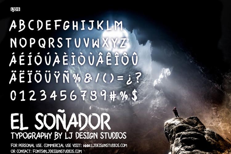 El Soñador Font