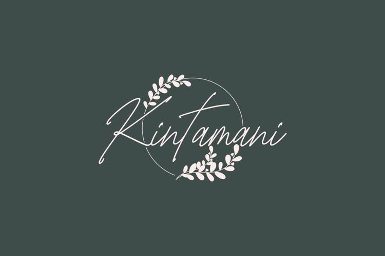 Bangli Kintamani Monoline Font