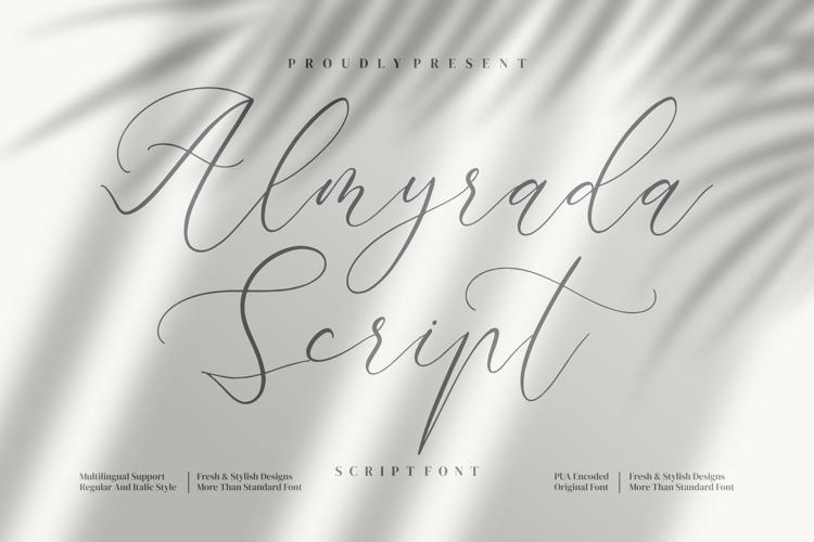 Almyrada Script Font