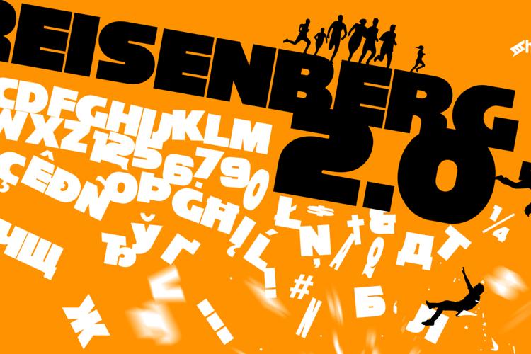 Reisenberg 2.0 Font