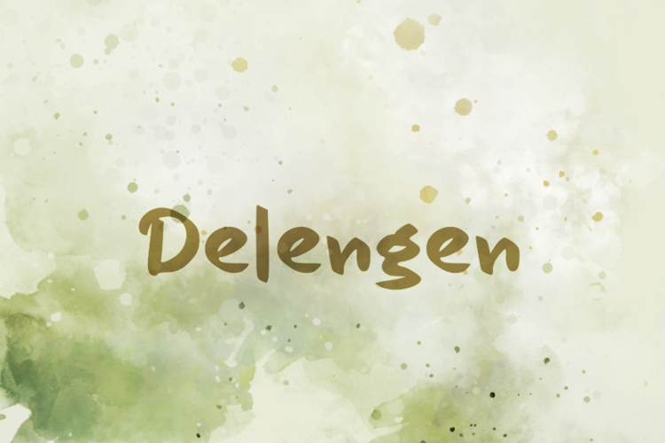 d Delengen Font