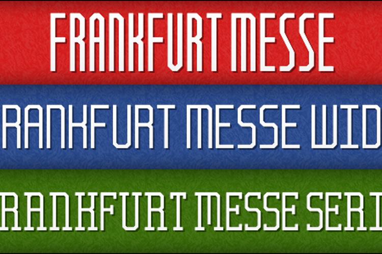 Frankfurt Messe Font