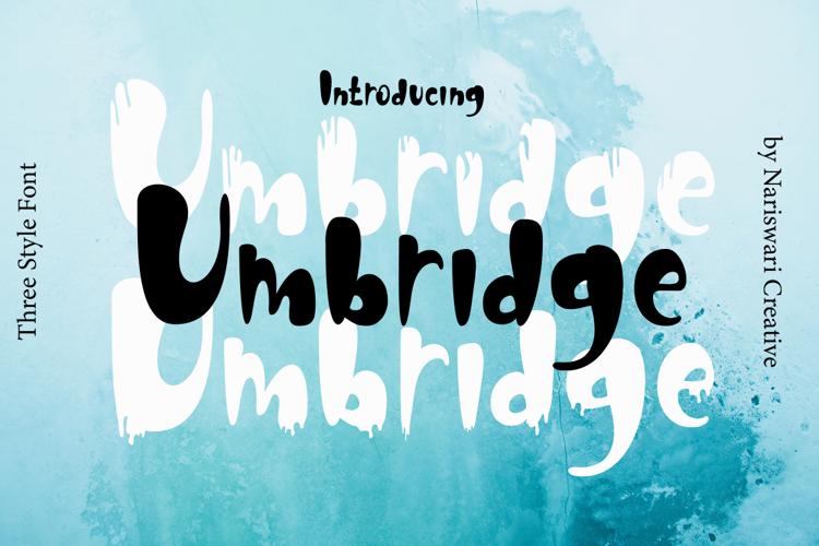 Umbridge Font