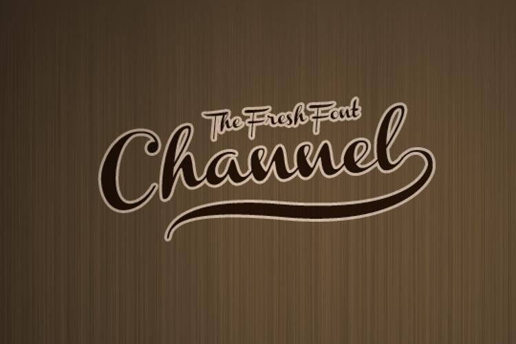 Channel Font