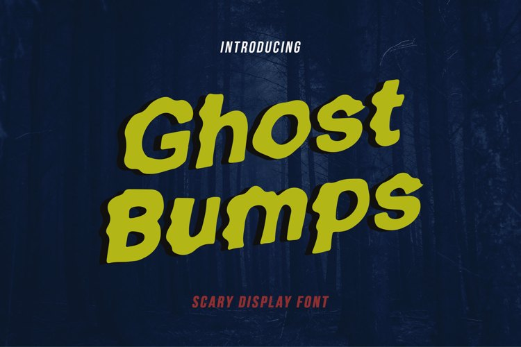 Ghostbumps Font