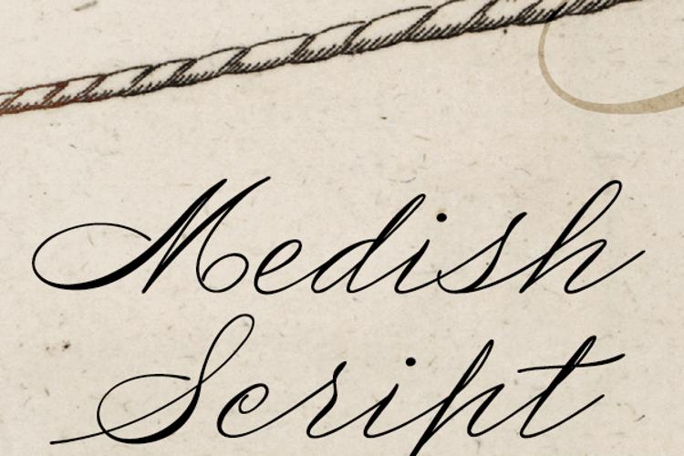 Medish Deco Font