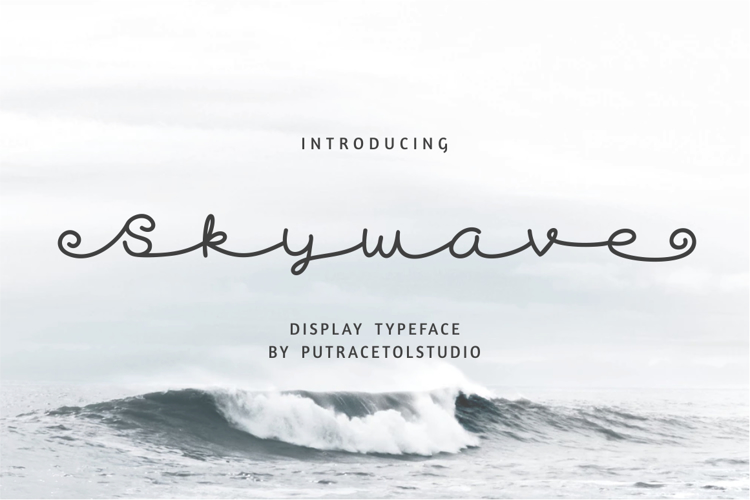 Skywave Free Font