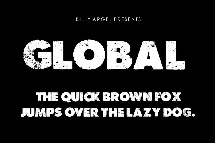 GLOBAL Font
