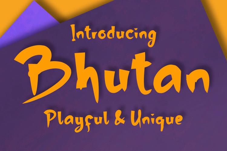 Bhutan Font