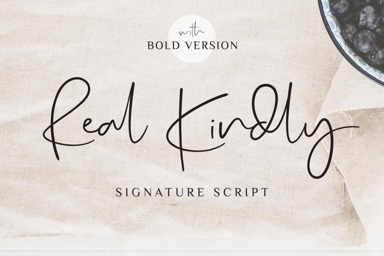 Real Kindly Font