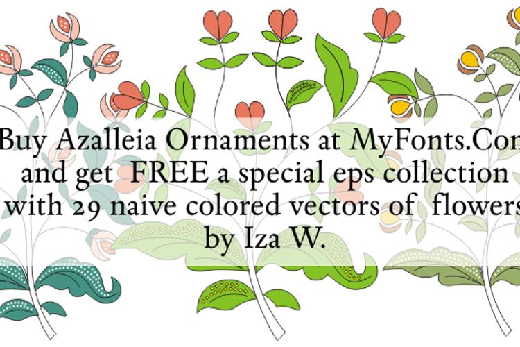Azalleia Ornaments Font