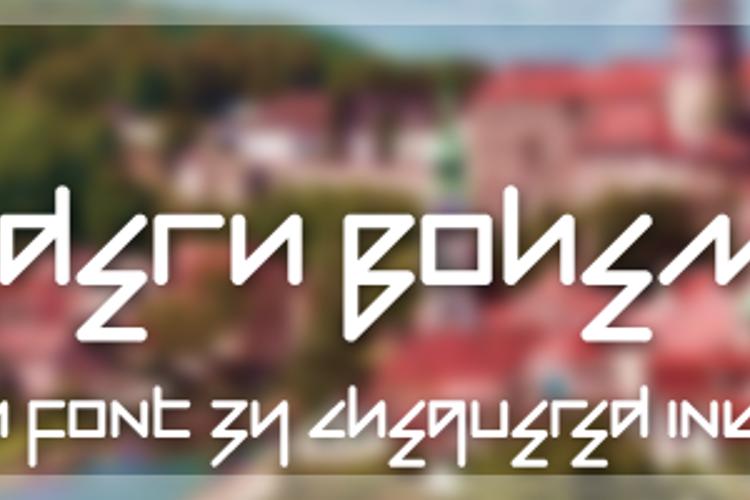 Modern Bohemian Font