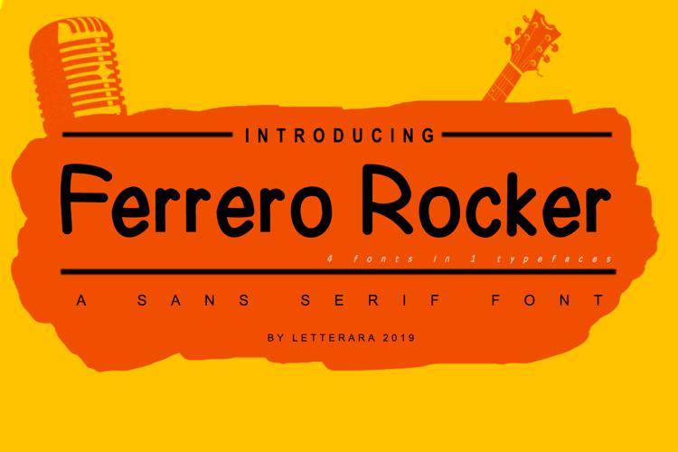Ferrero Rocher Font