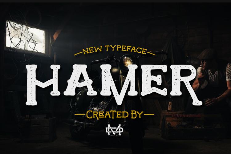 Hamer Font