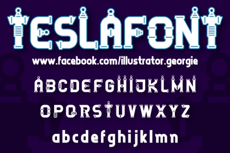 TESLAFONT Font