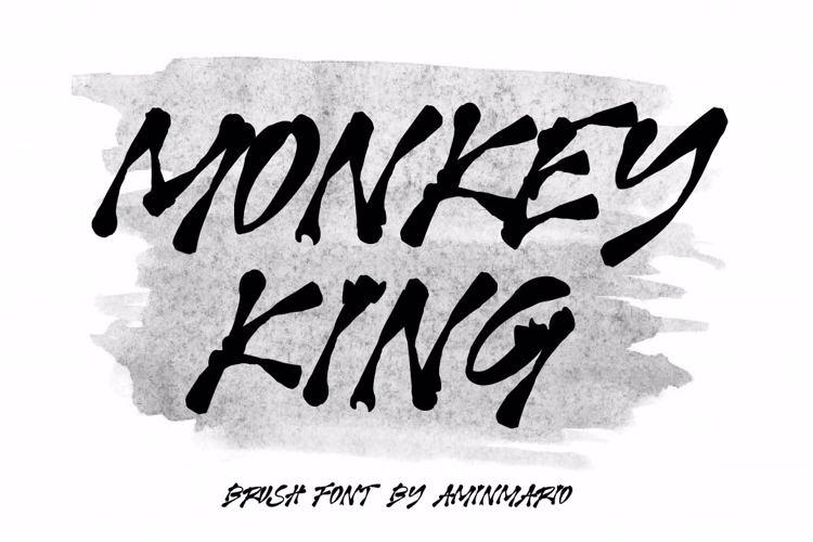 MONKEY KING Font