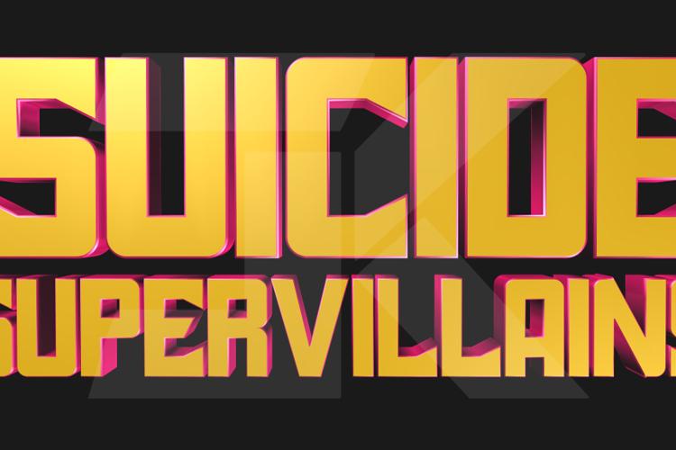 Suicide SuperVillains Font