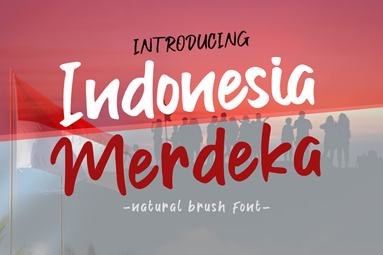 Indonesia Merdeka Font
