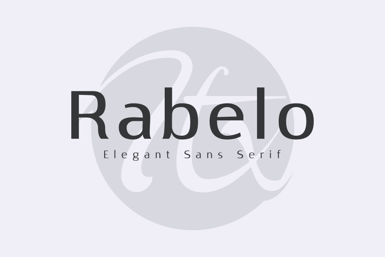 Rabelo Font