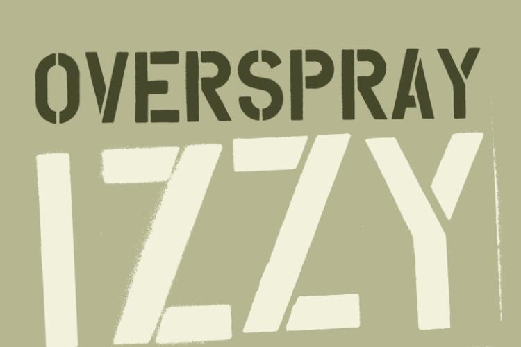 Overspray Font