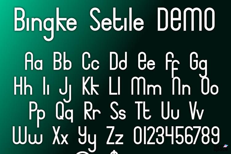 Bingke Font