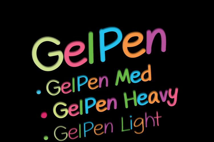 GelPen Font