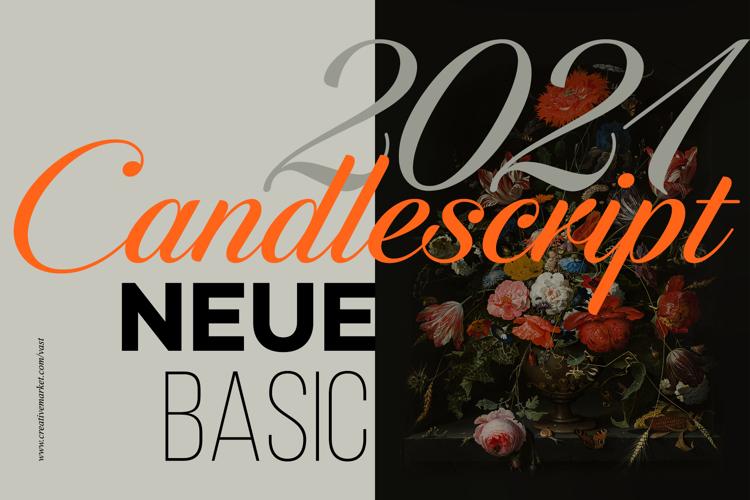 Candlescript Neue Font
