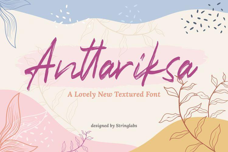 Anttariksa Font