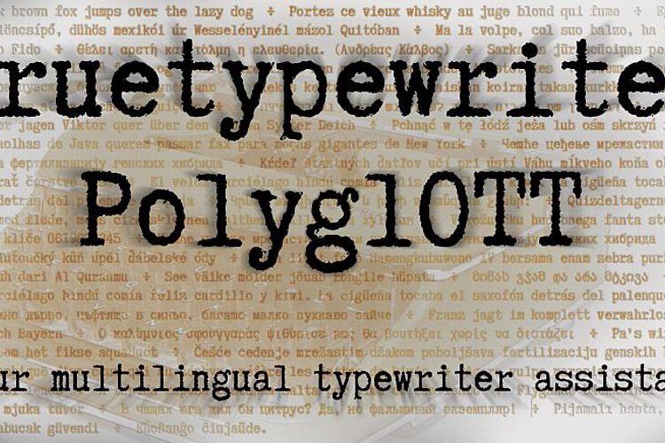 Truetypewriter PolyglOTT Font