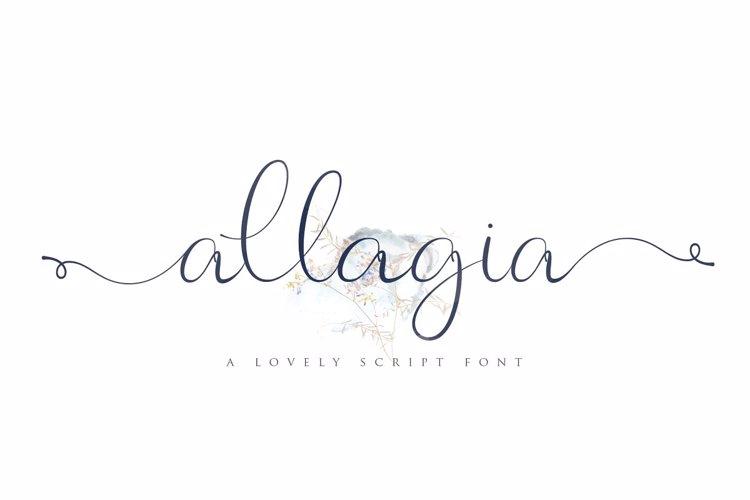 Allagia Font
