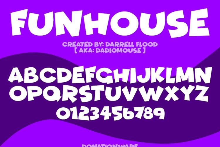 Funhouse Font
