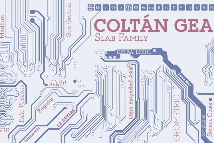 Coltan Gea Font